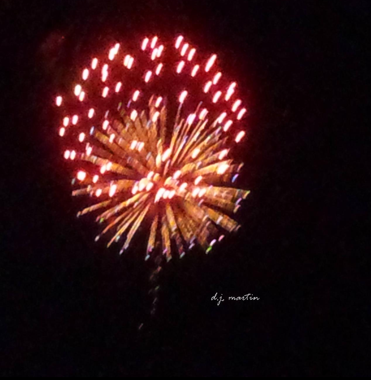 Fireworks by D.J. Martin